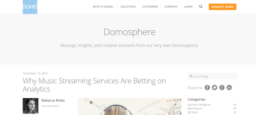 Domo business intelligence blog