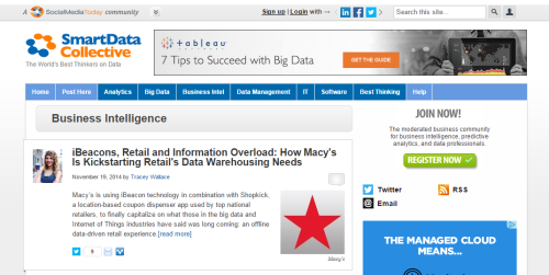 SmartData Collective business intelligence news