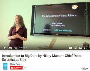 Introduction to Big Data by Hilary Mason Chief Data Scientist at Bitly