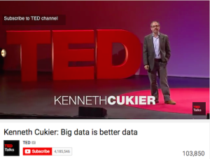 Kenneth Cukier Big Data is Better Data