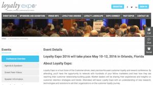Loyalty 360s Loyalty Expo