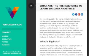 What Are the Prerequisities to Learn Big Data Analytics