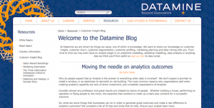 Datamine Customer Insight Blog