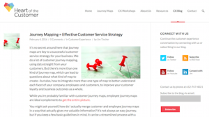 Heart of the Customer CX Blog