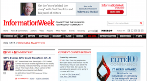 InformationWeek Big Data Analytics