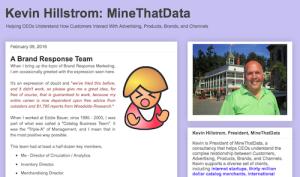 Kevin Hillstrom MineThatData