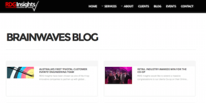 RDGInsights Brainwaves Blog