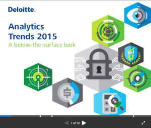 Analytics Trends 2015 A BelowtheSurface Look