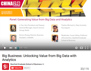 Big Business Unlocking Value from Data with Analytics