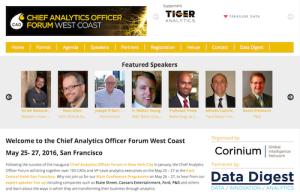 Chief Analytics Officer Forum West Coast