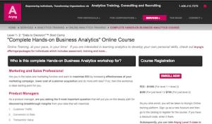 Complete HandsOn Business Analytics Online Course