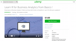 Learn R for Business Analytics from Basics!