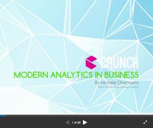 Modern Analytics in Business