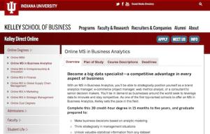 Online MS in Business Analytics