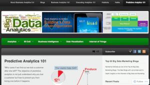 Predictive Analytics 101
