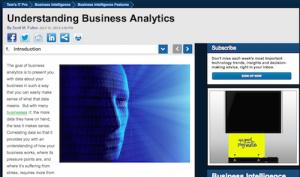 Understanding Business Analytics