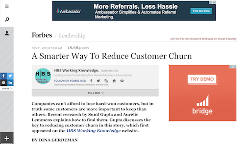 A Smarter Way to Reduce Customer Churn