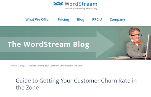 Guide to Getting Your Customer Churn Rate in the Zone
