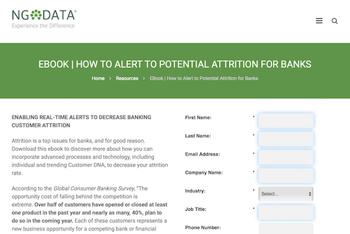 How to Alert to Potential Attrition for Banks