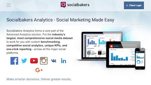 Socialbakers Analytics