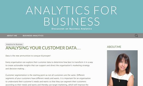 Analysing Your Customer Data