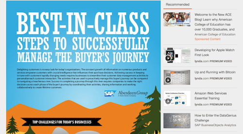 BestinClass Steps to Successfully Manage the Buyers Journey