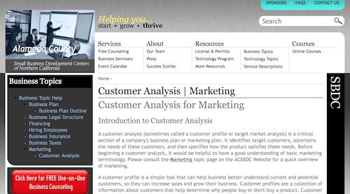 Customer Analysis for Marketing