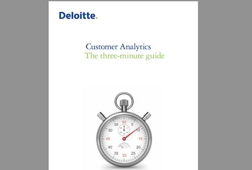 Customer Analytics The ThreeMinute Guide
