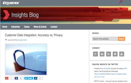 Equifax Insights Blog