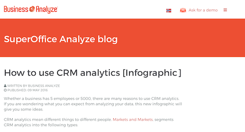 How to Use CRM Analytics