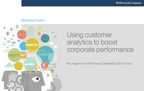 Using Customer Analytics to Boost Corporate Performance