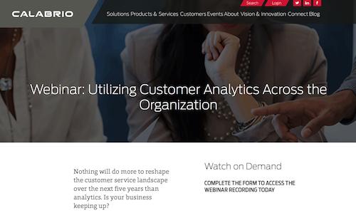 Utilizing Customer Analytics Across the Organization