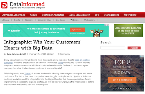 Win Your Customers Hearts with Big Data