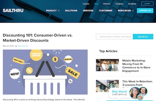 Make decisions based on consumer behavior