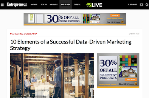 10 Elements of a Successful DataDriven Marketing Strategy