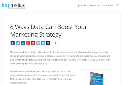 8 Ways Data Can Boost Your Marketing Strategy