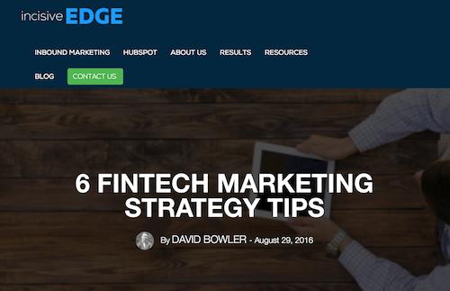 Base inbound marketing on a solid strategic foundation