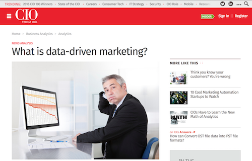 What is DataDriven Marketing