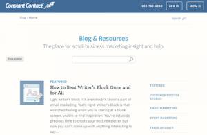 Constant Contact Blog