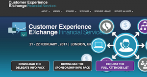 Customer Experience Exchange for Financial Services
