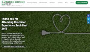 Customer Experience Tech Fest