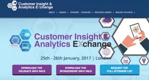 Customer Insight and Analytics Exchange