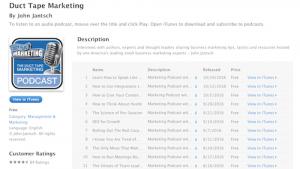 Duct Tape Marketing Customer Retention