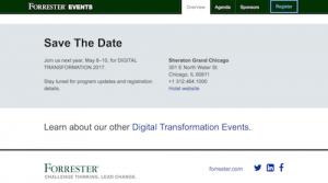 Forrester Digital Transformation