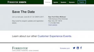Forresters CXNYC Forum