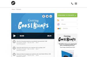 Getting Goosebumps The Power of Storytelling