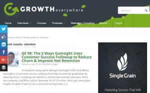 Growth Everywhere Customer Retention