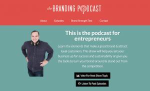 The Branding Podcast An Entrepreneurs Guide