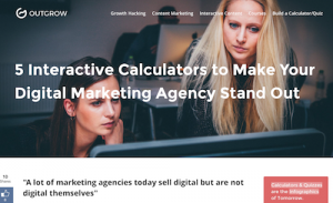 5 Interactive Calculators to Make Your Digital Marketing Agency Stand Out