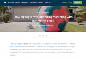How bigdog is Revolutionizing Marketing with Interactive Email